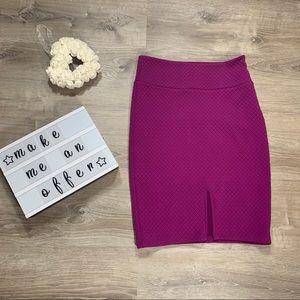 bebe women's pencil skirt